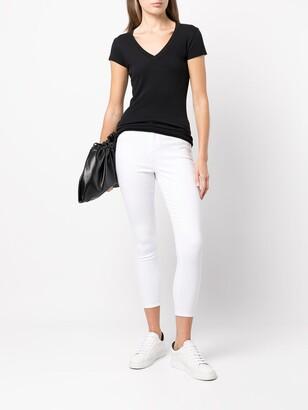 L'Agence v-neck T-shirt