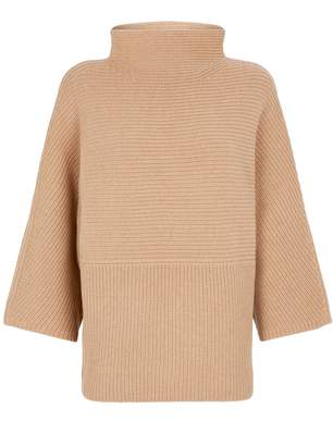 St. John Ribbed Cashmere Sweater