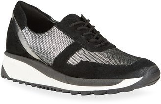 Sesto Meucci Claire Metallic Runner Sneakers