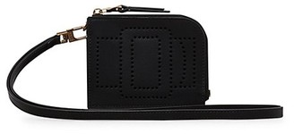 Boyy Perforated Buckle Leather Card Case