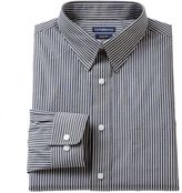 Croft & Barrow Men's Fitted Striped Dress Shirt