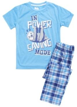 Sleep On It Big Boys Power Saving Mode Pajama Set