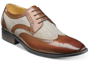 Stacy Adams Men's Kemper Wingtip Oxfords Men's Shoes