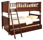 Hokku Designs Milton Twin over Full Futon Bunk Bed