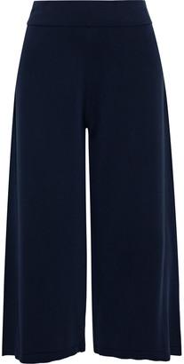 Vince Cropped Cotton-blend Wide-leg Pants