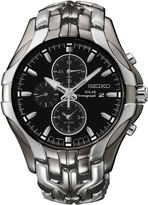 Seiko Excelsior Mens Two-Tone Chronograph Solar Watch SSC139
