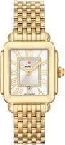 Michele Deco Madison Diamond Dial Watch Head & Bracelet, 29mm x 31mm
