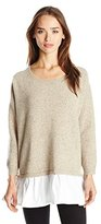 French Connection Women's Clara Knits Colorblock Sweater