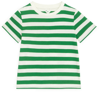 Arket Yarn-Dyed Striped T-Shirt