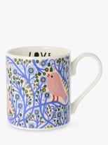 Monika Forsberg Morning Light Mug, 300ml, Blue/Multi