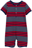 Toobydoo Milo Striped Shortie Jumpsuit (Baby Boys)