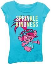 Freeze Trolls Poppy Sprinkle Kindness Tee (Little Girls)