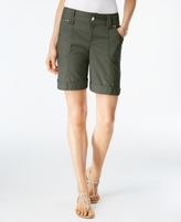 INC International Concepts Petite Embellished Utility Shorts, Created for Macy's
