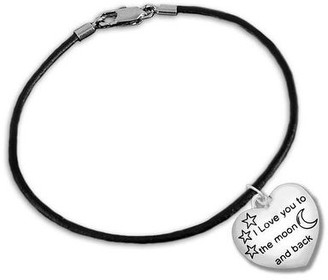 """Overstock """"I Love You To The Moon And Back"""" for Mental Health Awareness Bracelet"""