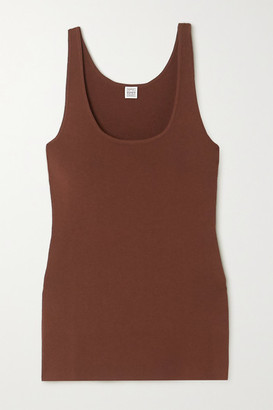 Totême Urda Knitted Tank - Brown