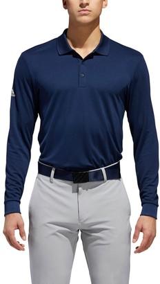 adidas Men's Long Sleeve Polo