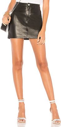 LAMARQUE Melora Leather Skirt
