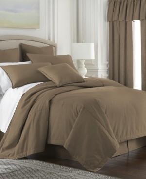 Colcha Linens Cambric Walnut Duvet Cover-King Bedding