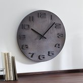 "Crate & Barrel Ryder 19.5"" Wall Clock"