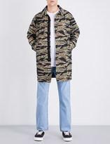 Stussy Camouflage-patterned cotton jacket