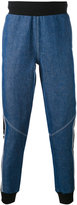 Kappa logo sweatpants - men - Cotton/Polyester - L