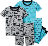Carter's Pirate 4-pc. Pajama Set - Toddler Boys 2t-5t