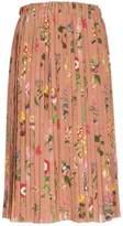 N°21 N.21 Floral Pleated Skirt