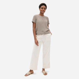 Everlane The Japanese GoWeave Swing-Back Top