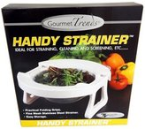 GOURMENT TRENDS Handy Strainer, Ideal for Straining, Cleaning and Screening