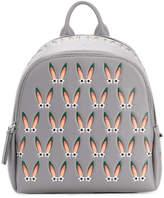 MCM bunny ears print backpack