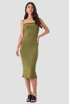 Milla Trendyol Thin Strap Midi Dress Black
