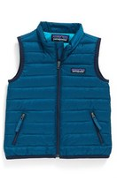Patagonia Toddler Boy's Windproof & Water Resistant 600-Fill Power Down Sweater Vest