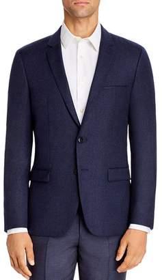 HUGO Arti Mélange Flannel Extra Slim Fit Suit Jacket