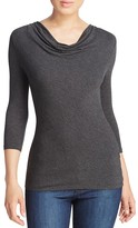Majestic Filatures Cowl Neck Tee