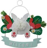 "Celebrate Easter Together Bunny ""Welcome"" Wall Decor"