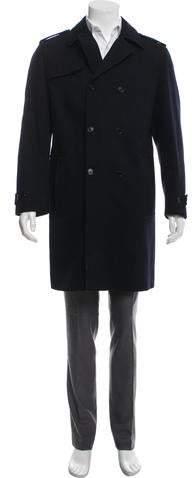 Marni Wool Double-Breasted Overcoat