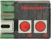 Bioworld Nintendo Controller Thin Black Bi-Fold Wallet