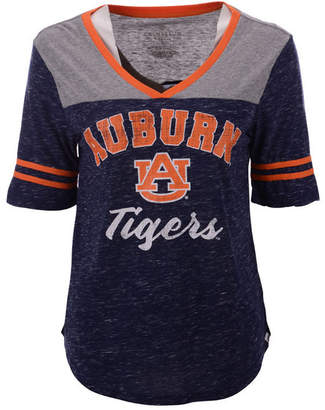 Colosseum Women Auburn Tigers Mr Big V-neck T-Shirt