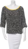 Diane von Furstenberg Oversize Bateau Neck Sweater