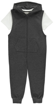 George Hooded Sleeveless Onesie and T-Shirt
