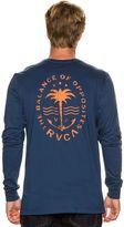 RVCA Anchor Palm Ls Tee