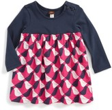 Tea Collection Infant Girl's Argyle Birds Dress