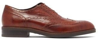 Paul Smith Fremont Leather Brogues - Brown