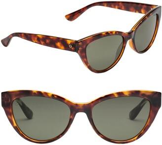 ELECTRIC Indio 58mm Polarized Cat Eye Sunglasses