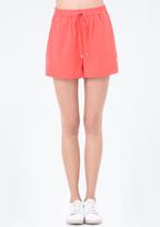 Bebe Faux Cuffed Shorts