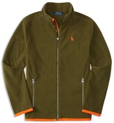 Ralph Lauren Boys' Micro Fleece Jacket - Sizes 2-7
