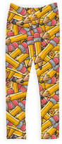 Urban Smalls Orange Pencils Leggings - Toddler & Girls
