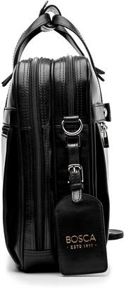 Bosca Stringer Leather Satchel