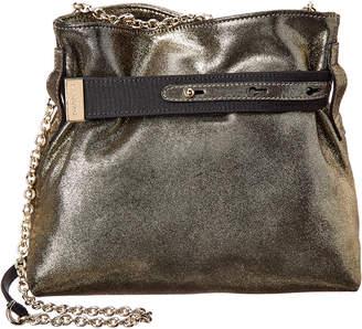 Lanvin V Small Leather Shoulder Bag