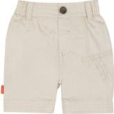 Kushies Sand Embroidered Shorts - Infant